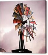Rustic Windmill Canvas Print