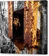 Rusting Away Canvas Print