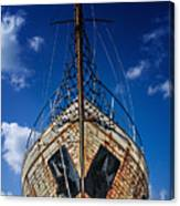 Rusting Boat Canvas Print