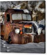 Rusting In Winter Canvas Print
