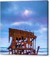 Rusting Peter Iredale Canvas Print