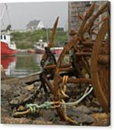 Rusty Anchors-2 Canvas Print