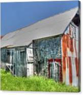 Rusty Barn Canvas Print