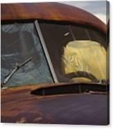 Rusty Beauty Canvas Print