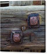 Rusty Bolts #2 Canvas Print