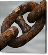Rusty Chain Canvas Print