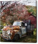 Rusty Chevy Pickup Truck Canvas Print