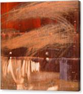 Rusty Container Canvas Print