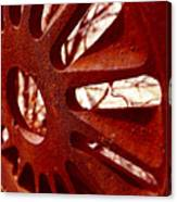 Rusty Gear Canvas Print