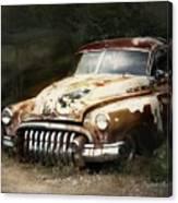 Rusty Ghost Canvas Print