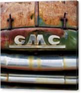 Rusty Gmc Truck Canvas Print