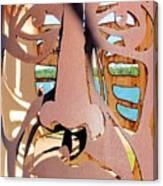 Rusty Head Canvas Print