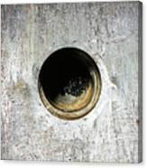 Rusty Hole Canvas Print