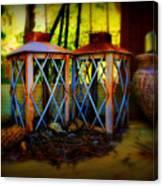 Rusty Lanterns   Canvas Print