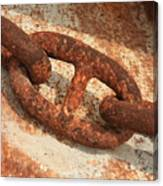 Rusty Links 1 Canvas Print