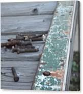 Rusty Nails Canvas Print