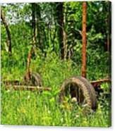Rusty Object 2 Canvas Print