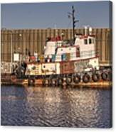 Rusty Old Tug Boat Canvas Print