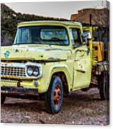 Rusty Old Work Truck Canvas Print