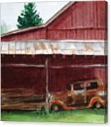 Rusty Ole Car Canvas Print