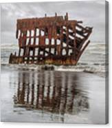 Rusty Reflections Canvas Print