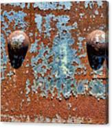 Rusty Rivets Canvas Print