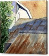 Rusty Roofs Canvas Print