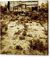 Rusty Rural Ramshackle Canvas Print
