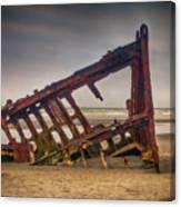 Rusty Shipwreck Canvas Print