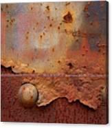 Rusty Train  Canvas Print