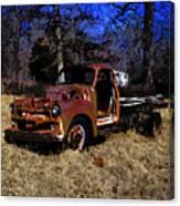Rusty Truck Canvas Print