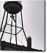 Rusty Water Tower Canvas Print