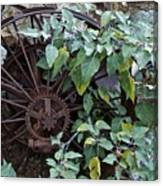 Rusty Wheel Canvas Print