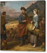 Ruth And Boaz Canvas Print