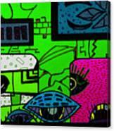 Rutina 2 Canvas Print