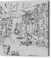 Rv Chain Dry Lab Canvas Print