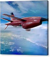 Ryan Bqm-34 Firebee Target Drone Missile Canvas Print