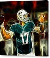 Ryan Tannehill - Miami Dolphin Quarterback Canvas Print