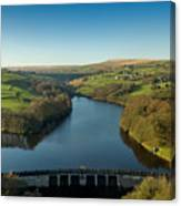 Ryburn Reservoir Canvas Print