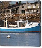 Rye Harbor - Rye New Hampshire Usa Canvas Print