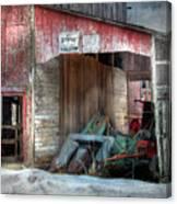 Rye Valley Stock Farm Canvas Print