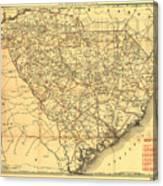 Sc Railroads Canvas Print