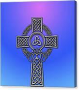 S6 Phone Celtic Cross Canvas Print