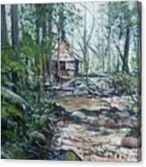 Sabah Hut In Malaysia 2016 Canvas Print