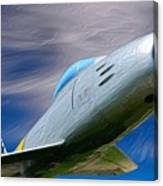 Saber Jet Canvas Print