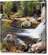 Sabino Creek Falls Canvas Print
