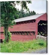 Sachs Covered Bridge  Canvas Print