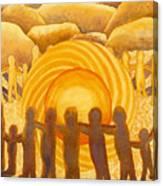 Sacral Chakra Canvas Print
