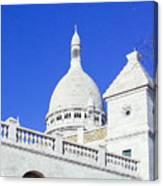Sacre Coeur Closeup Canvas Print