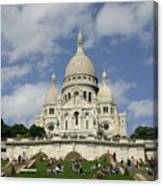 Sacre Coeur  Paris France Canvas Print
